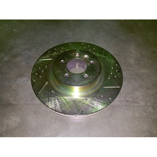 SDB000624CDG Brake Rotor Front Cross Drilled